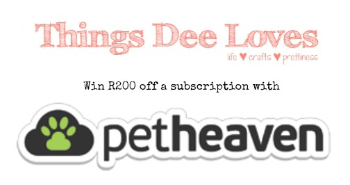 Loving…Pet Heaven {lucky draw}
