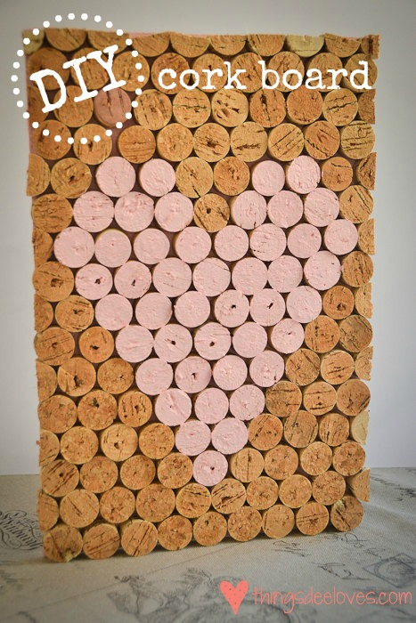 loving cork board diy