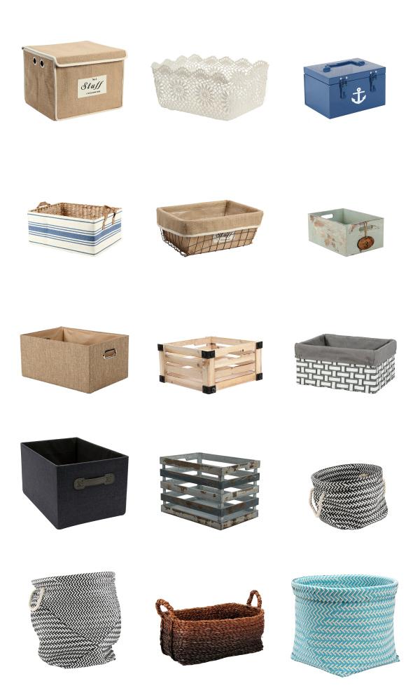 storage baskets 2