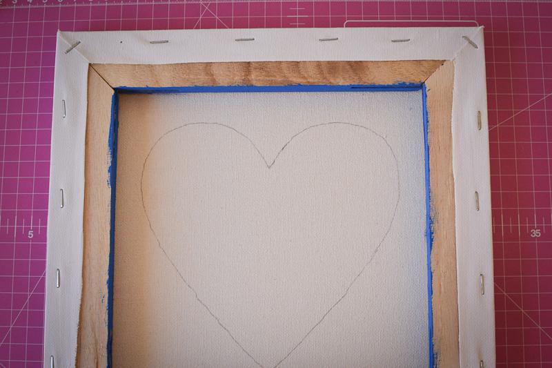 cotton candi heart art-3