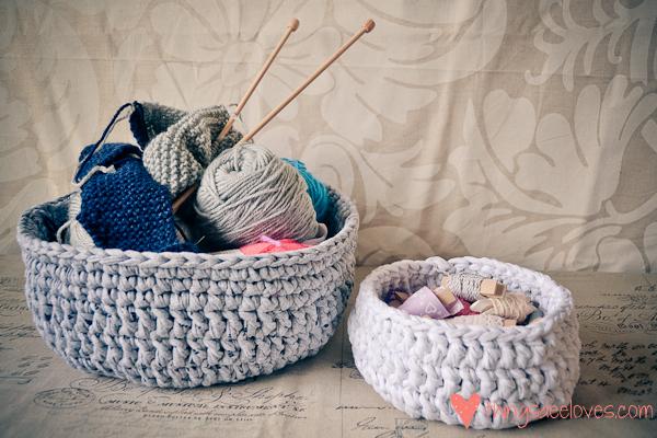 crochet t-shirt basket-2