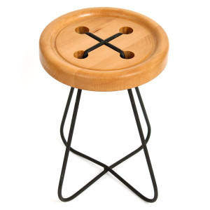 CHURCH_buttonstool_beech_grande
