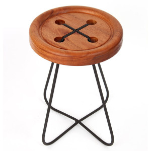 CHURCH_buttonstool_mahogany_grande