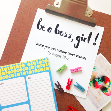 Be a Boss, Girl! Workshop @ I love my laundry | Biddinghuizen | Flevoland | Netherlands