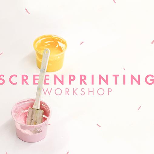 Zana screenprinting workshop @ Wellness 4 Living | Cape Town | Western Cape | South Africa