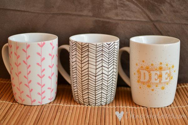 Loving Decorated Mugs Diy